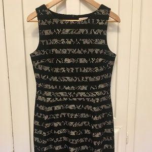 Black Esprit sheath dress